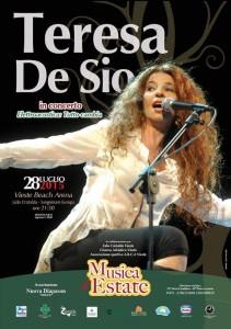 Teresa de Sio in concerto Vieste